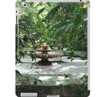 The Garden Fountain iPad Case/Skin