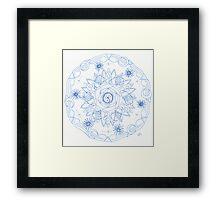 Nature's Way Mandala Framed Print