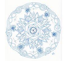 Nature's Way Mandala Photographic Print