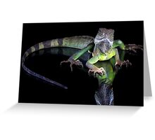 Dragons reflection Greeting Card