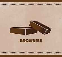 Brownies (Color Palate) by janna barrett