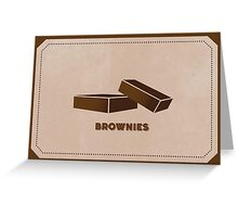 Brownies (Color Palate) Greeting Card