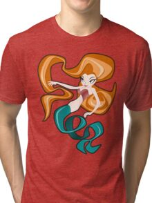 Mermaid Tri-blend T-Shirt