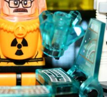 Lego Breaking Bad Laboratory Sticker