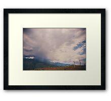 I Predict Rain Framed Print