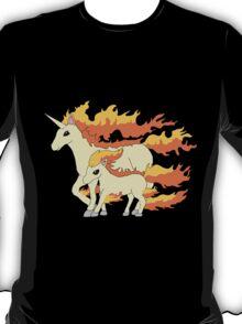 Rapidash & Ponyta T-Shirt