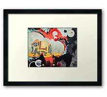 Found Path Framed Print