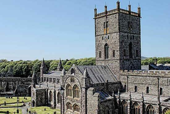 St David's Cathedral by Selina Ryles