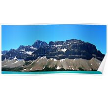 Bow Lake Ice Fields Parkway Poster