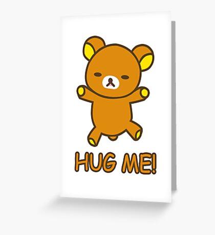 Rilakkuma Hug Greeting Card