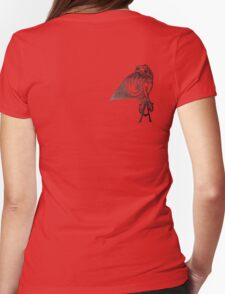 Angel's Tattoo Womens Fitted T-Shirt