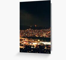 small cities big flats / ground nine Greeting Card