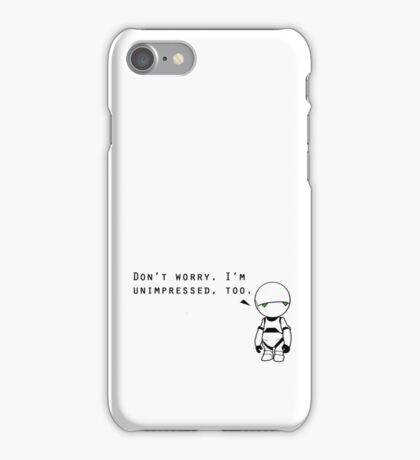 Marvin is Unimpressed With Your Phone Case iPhone Case/Skin