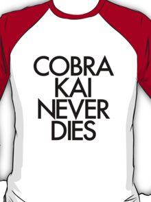 Cobra Kai Never Dies 2 T-Shirt