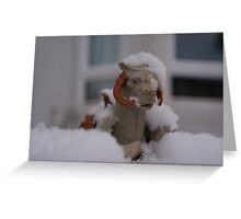 Tauntaun in snow Greeting Card