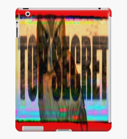 top secret iPad Case/Skin