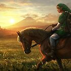 THE LEGEND OF ZELDA HD HYRULE  by Wassonski