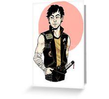 Punk!Sulu Clear Greeting Card