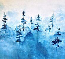 Blue Woods by Sophersgreen