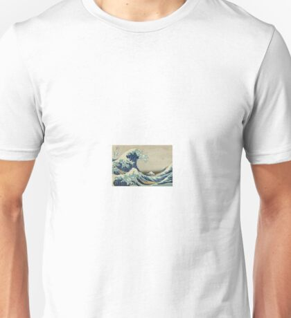The Great Wave of Kanagawa Unisex T-Shirt