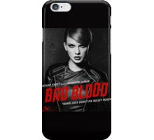 BAD BLOOD BEAUTIFUL TAYLOR SWIFT iPhone Case/Skin
