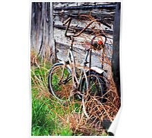 Abandoned Bike Poster