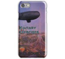 military exercises iPhone Case/Skin