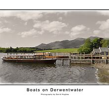 Boats on Derwentwater by DavidWHughes