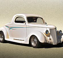1936 Ford Coupe 'Plain Vanilla' by DaveKoontz