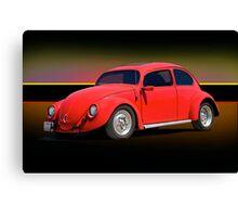 1966 Volkwagon 'Beatle Bug' Canvas Print