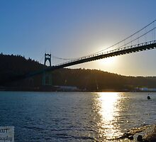 St Johns at sunset by Courtneystarr