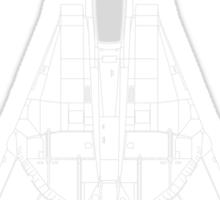 Grumman F-14 Tomcat Blueprint Sticker