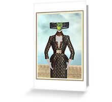 Son of McQueen Greeting Card