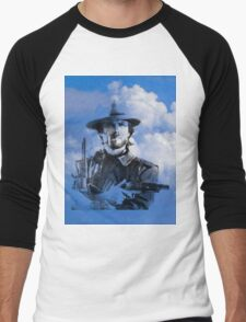 Clint in the clouds Men's Baseball ¾ T-Shirt
