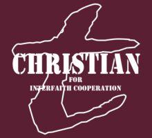 Christian for Interfaith Cooperation (dark color) by Daire Ó'Hearáin-Olsen