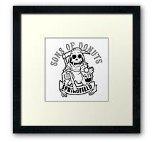 SONS OF DONUTS SPRINGFIELD Framed Print