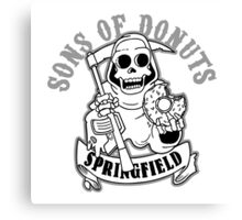 SONS OF DONUTS SPRINGFIELD Canvas Print