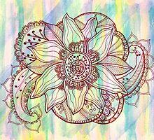 Zentangle #3 by Ali Hatfield