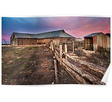 Mungo Woolshed Poster