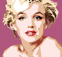 Marilyn by Douglas Simonson