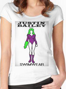 Justin Bailey Brand Swimwear Women's Fitted Scoop T-Shirt