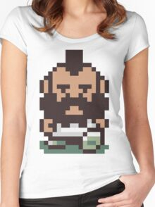 Mr. T ... Is that you? Earthbound / Mother 2 Women's Fitted Scoop T-Shirt