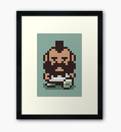 Mr. T ... Is that you? Earthbound / Mother 2 Framed Print