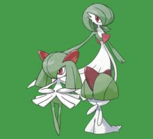 Ralts and Gardivoir by Stephen Dwyer