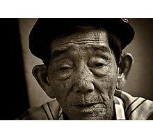 Vietnam - Ho Chi Minh City - Old Man Street Artist Photographic Print