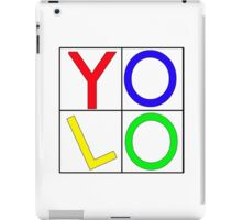 """""""YOLO"""" You Only Live Once  iPad Case/Skin"""