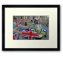 The British Olympic Spirit - London 2012 Framed Print