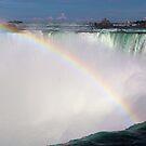 Niagara Falls Rainbow by Bob Hardy