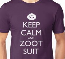 Keep Calm and Zoot Suit - Dark Unisex T-Shirt