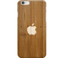 Wood fence spray-paint iPhone case iPhone Case/Skin